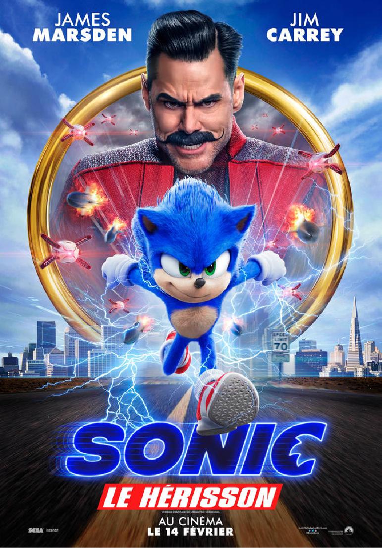 Poser pour Sonic le hérisson