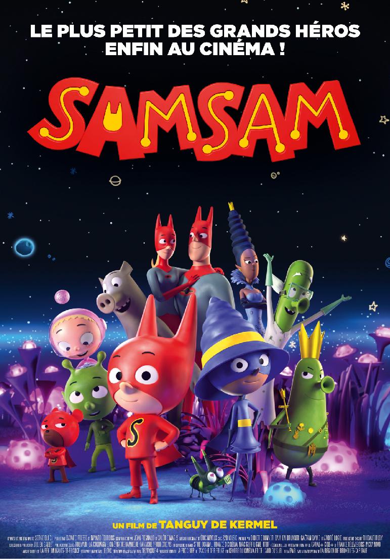 Poser pour SamSam
