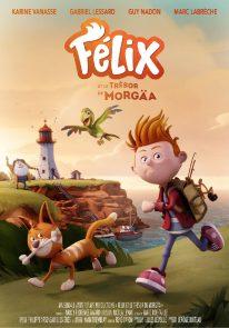 Poser pour Félix et le trésor de Morgäa