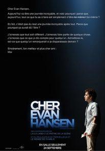 Poser pour Cher Evan Hansen